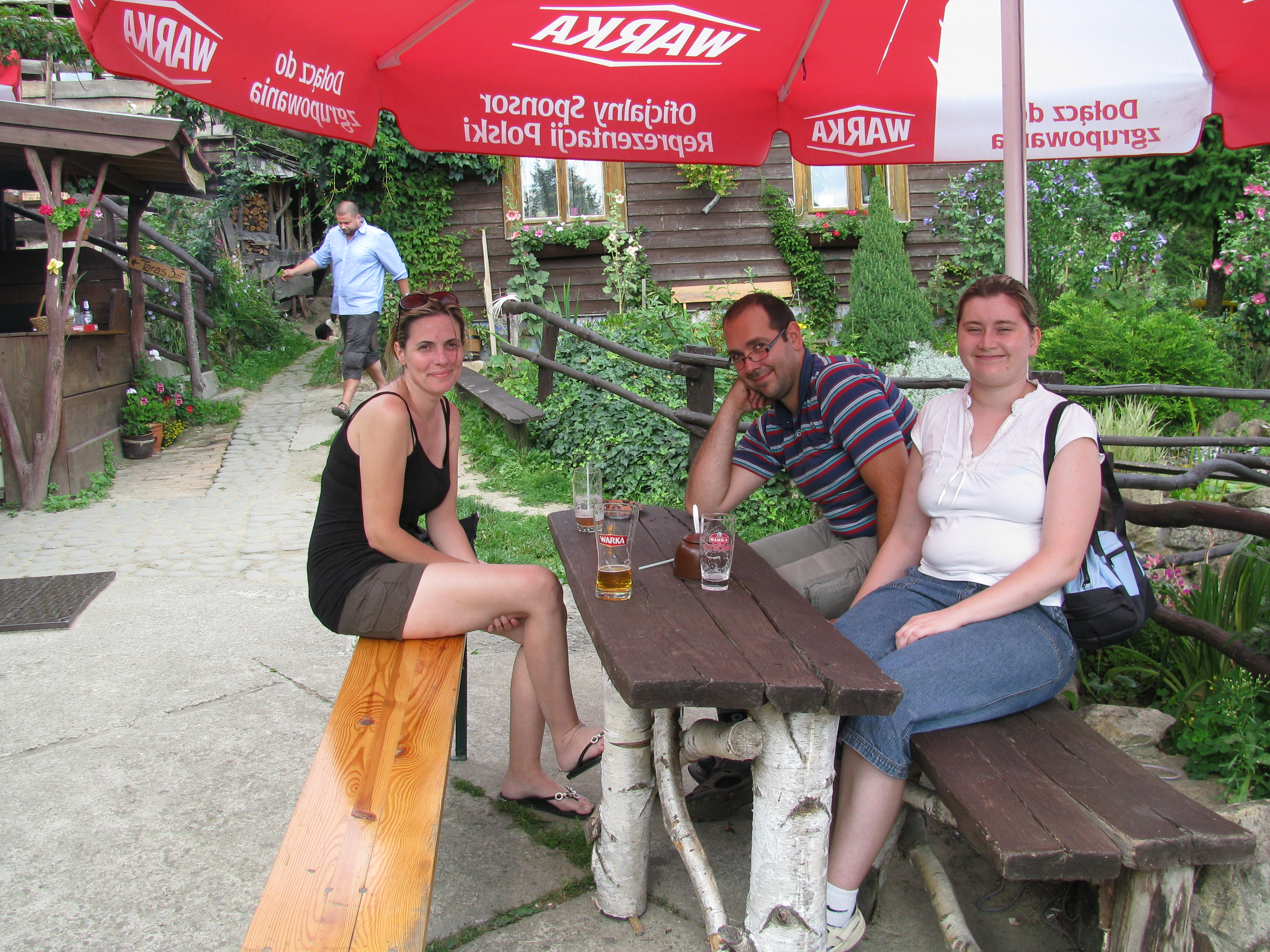 Heather with Anna and her husband Gregorz