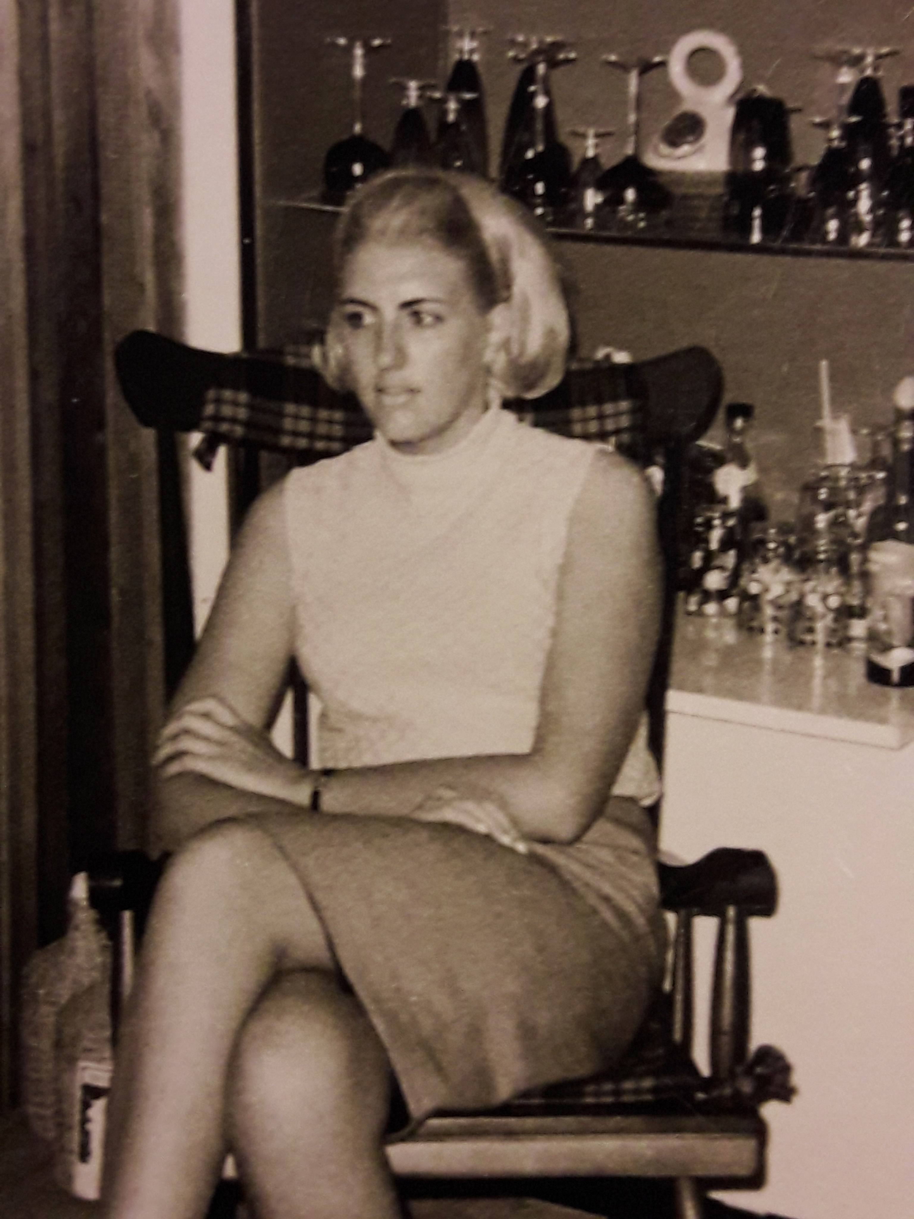 Jan's mother Conny at age 20.