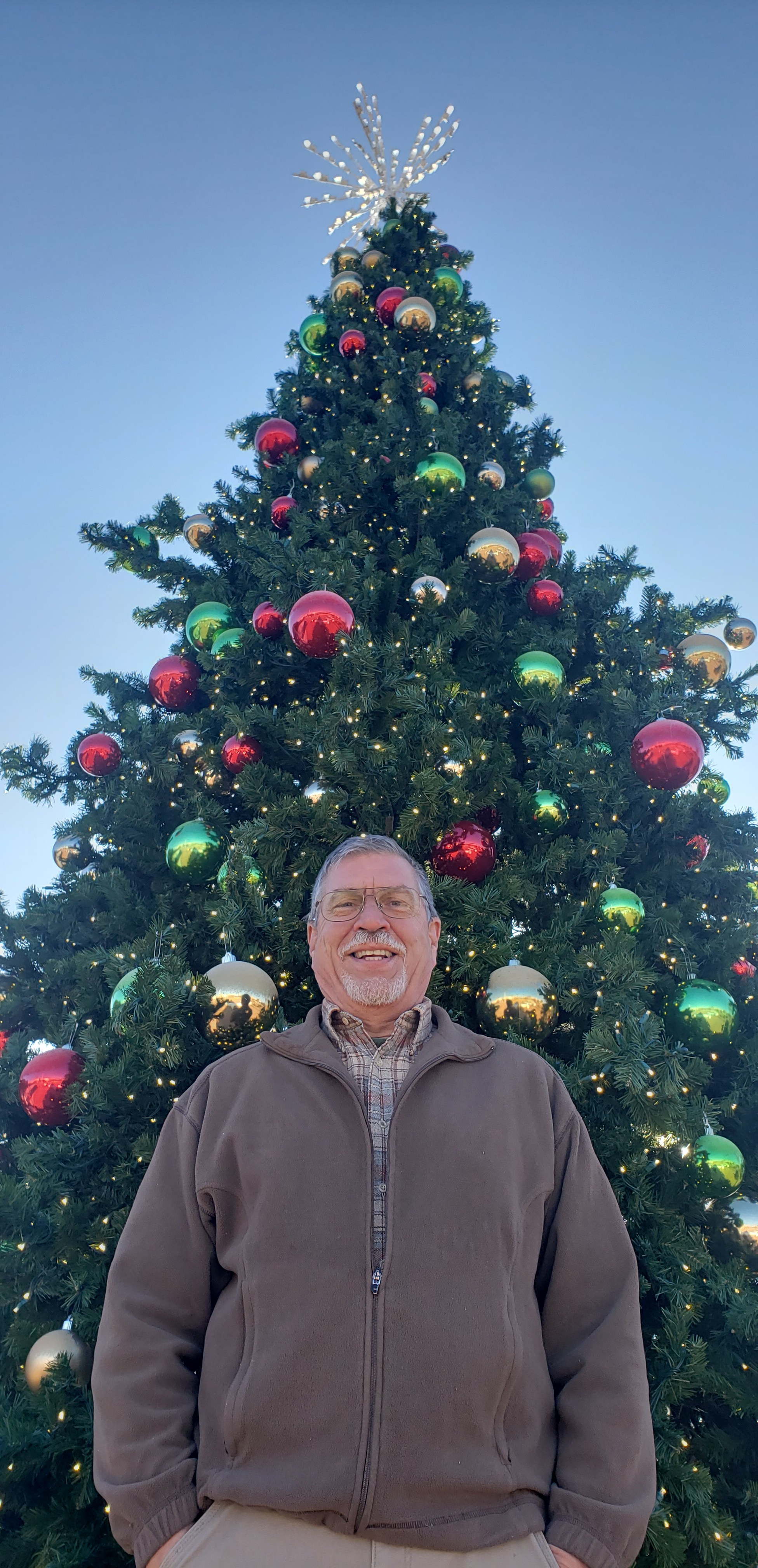 Christmas Tree Lights: James Newburn, the great-great grandson of Edward Hibberd Johnson, the inventor of the Christmas tree lights