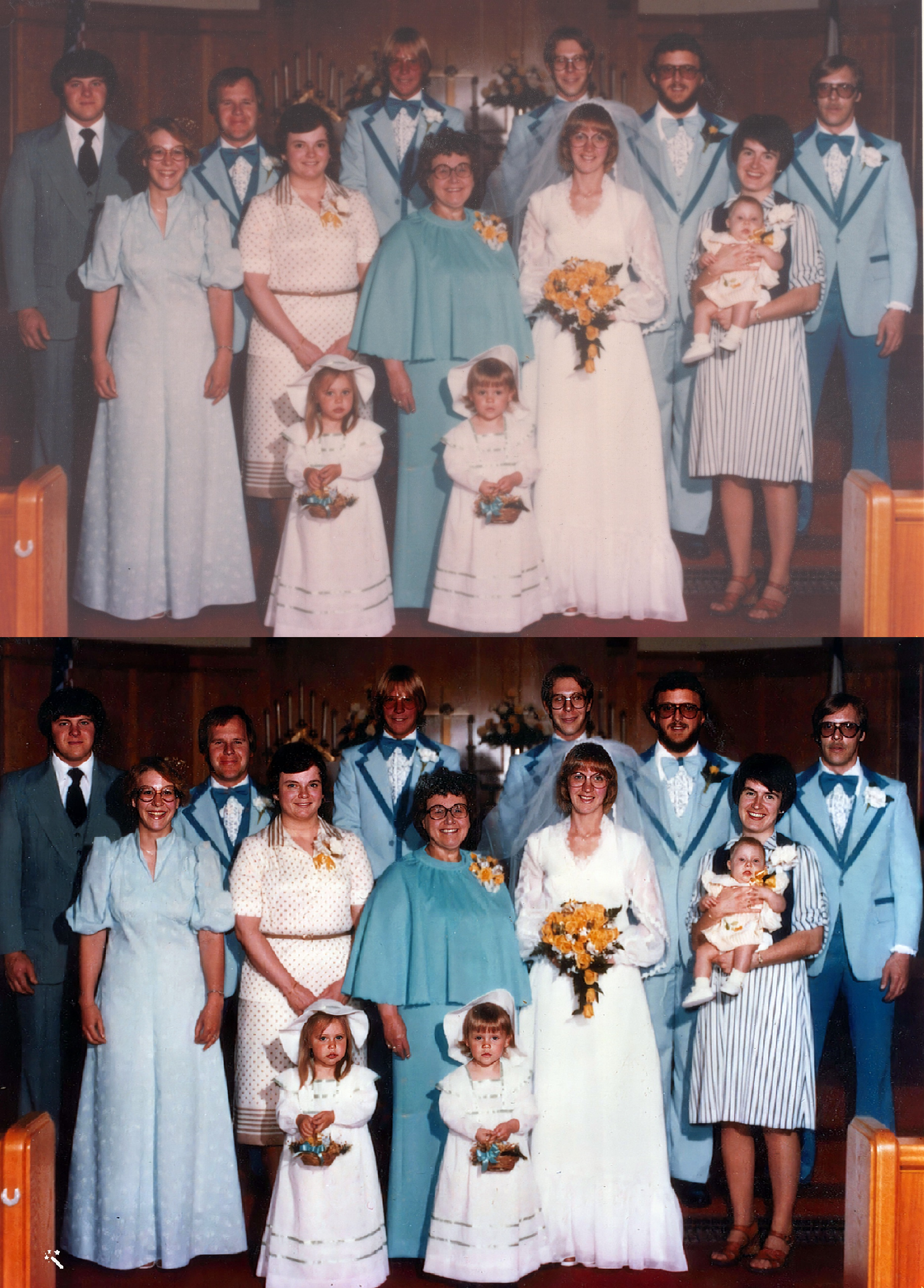 Wedding of Larry and Kathryn Nelson, May 19, 1979