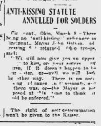 Source: The Meriden Daily Journal, Mar 3, 1919: