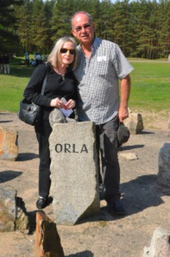 Eli and Ray in Treblinka