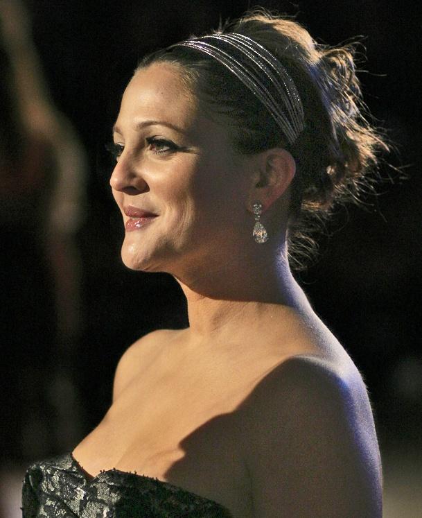 Drew Barrymore at the 2007 Music & Lyrics London premiere.