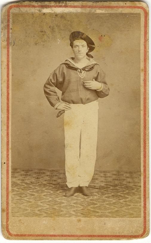 Gonzalo's great-great-grandfather Antonio De Filippi Montaldo, 1866.