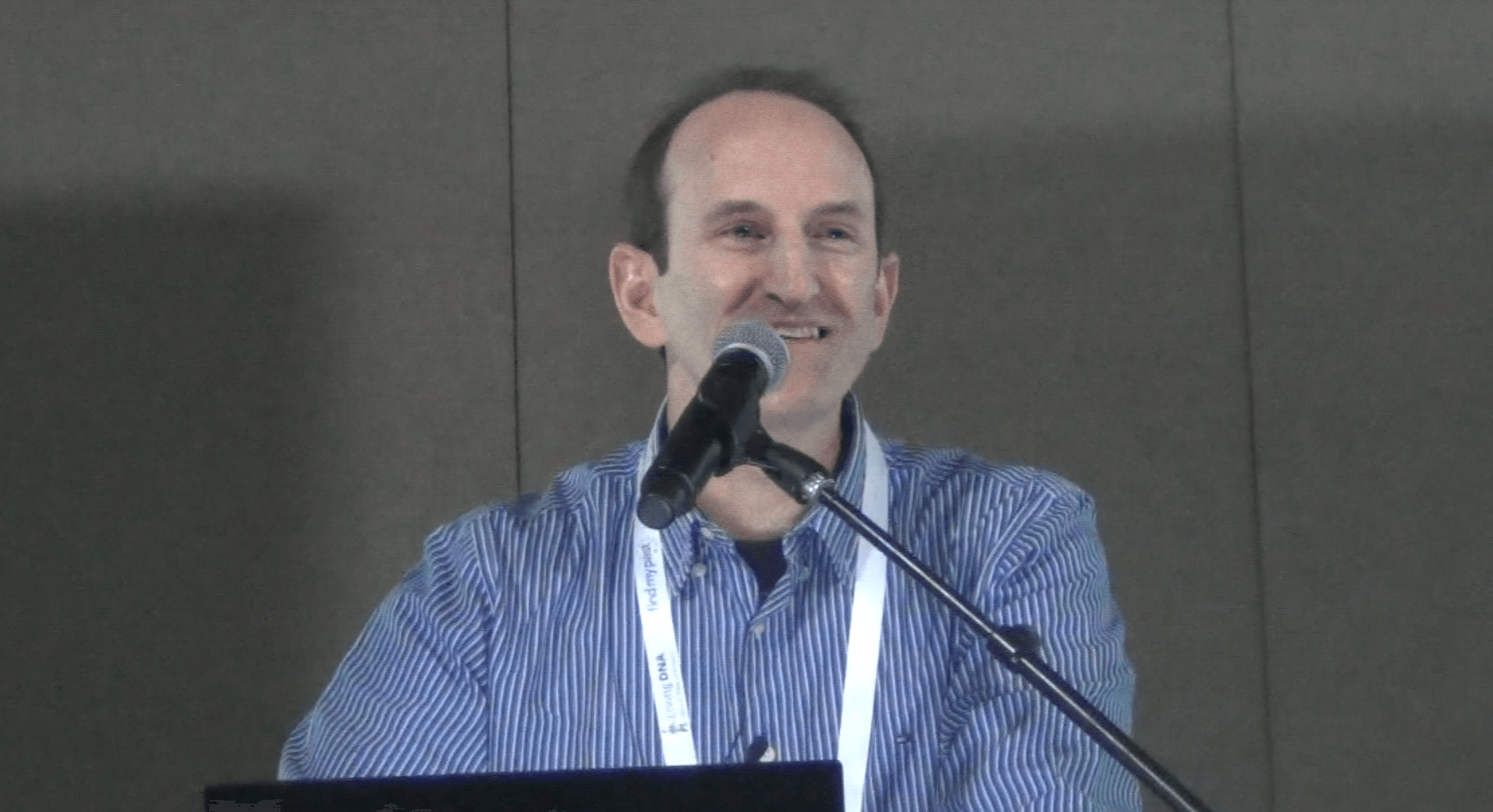 MyHeritage Founder and CEO Gilad Japhet at RootsTech 2019