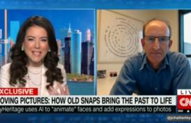 CNN Interviews MyHeritage CEO Gilad Japhet on Deep Nostalgia™