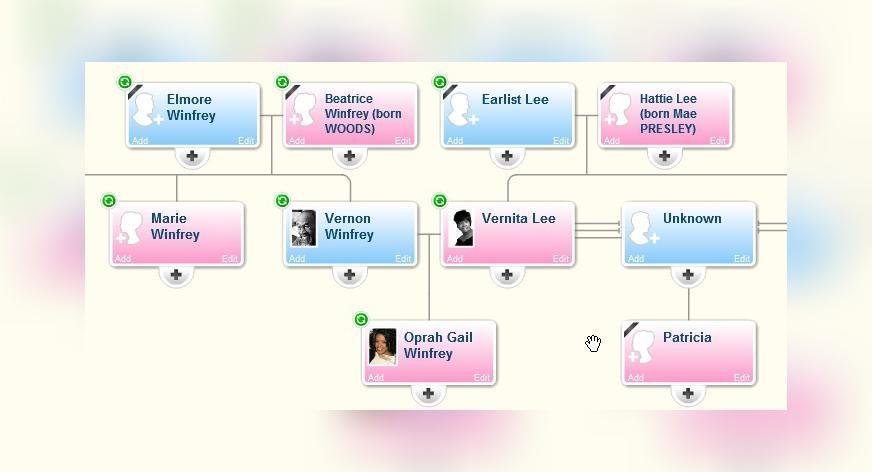 Family Tree of Oprah Winfrey