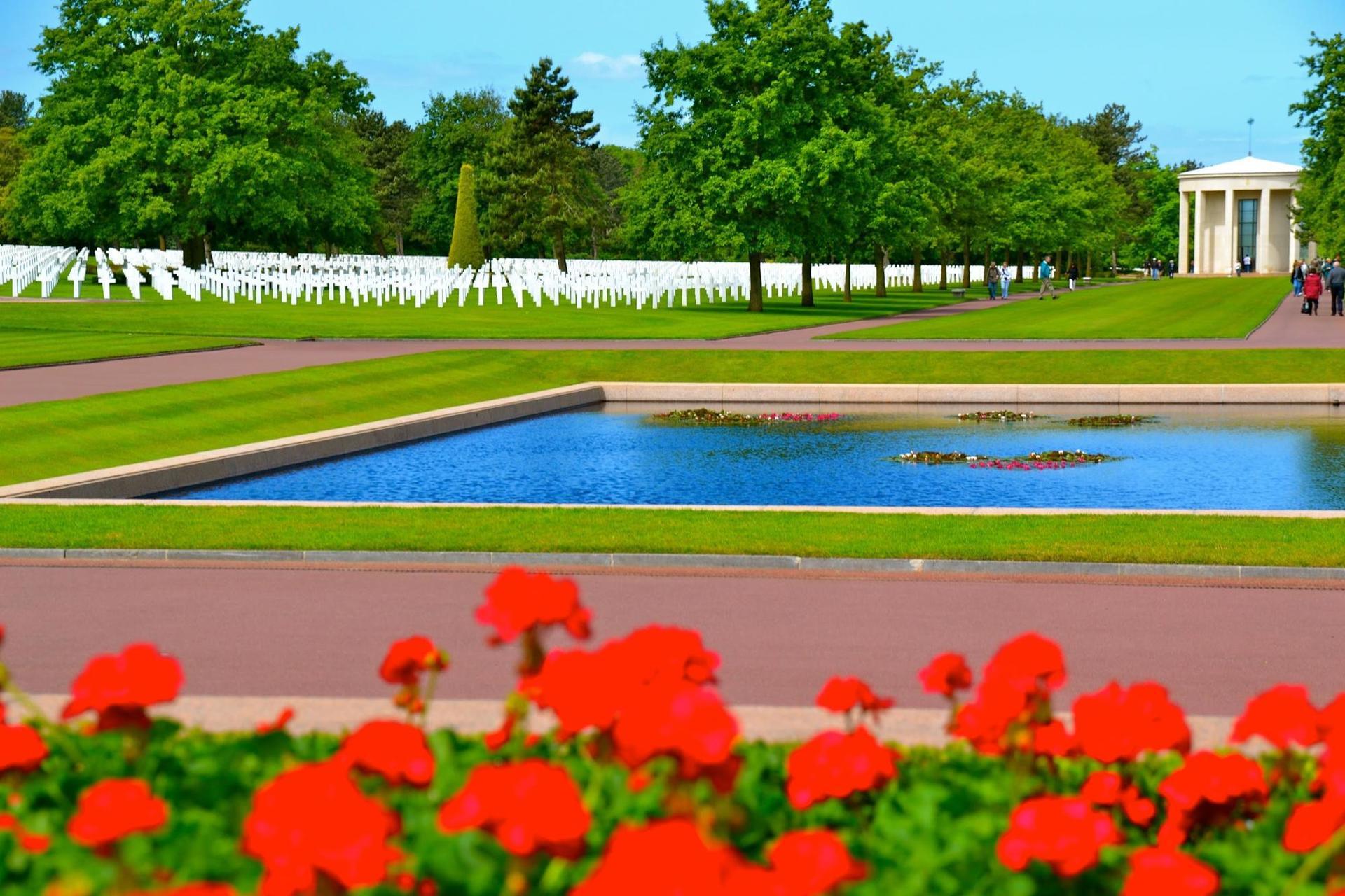 Normandzki Cmentarz Amerykański, Colleville-sur-Mer, Francja