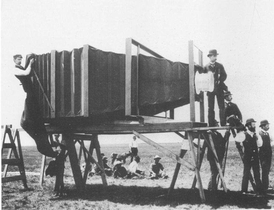 Photographer George R. Lawrence designed his own large-format cameras such as this one