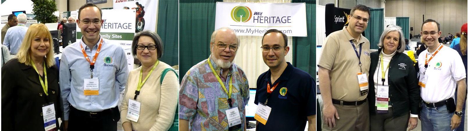 Daniel Horowitz with Genealogy blogers