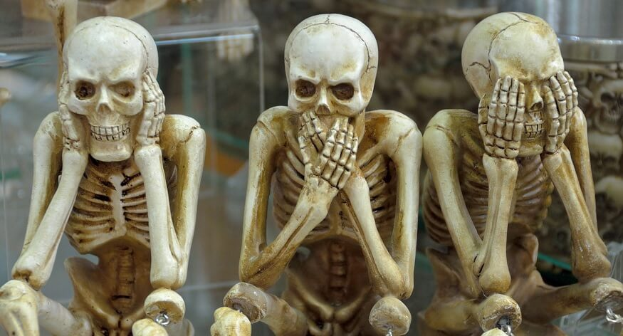 Family Skeletons: Don't get spooked!